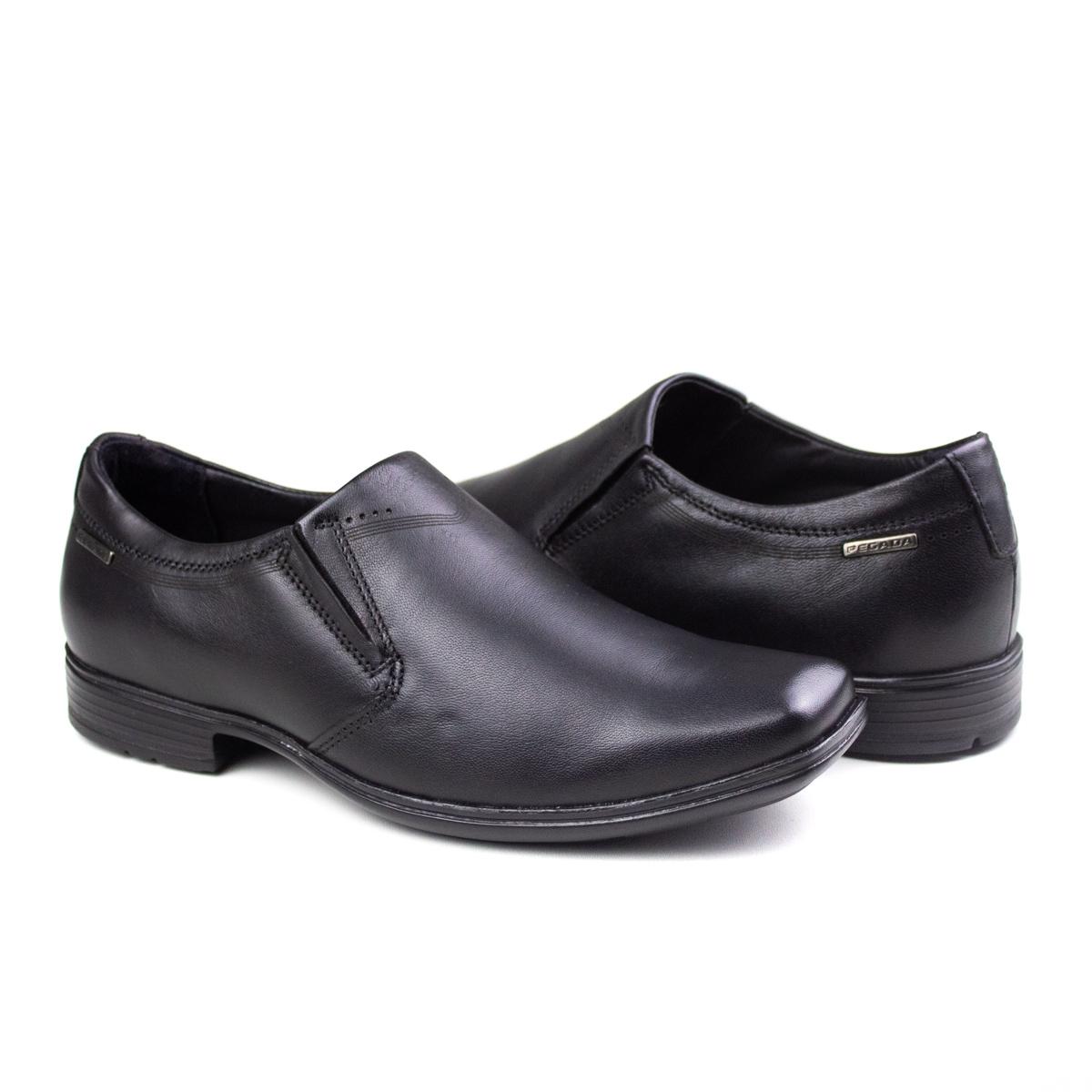 Sapato Masculino Pegada Esporte Leve Calcar Pegada - Preto