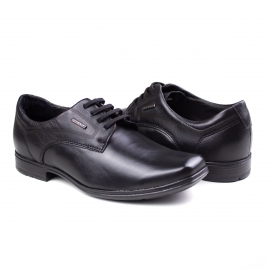 Sapato Masculino Pegada Esporte Leve Elástico Pegada - Preto