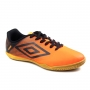 Chuteira Futsal Indoor Umbro Game - Coral/preto