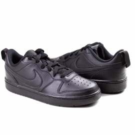 Tênis Court Borough Low 2 Feminino Nike - Black/black-black