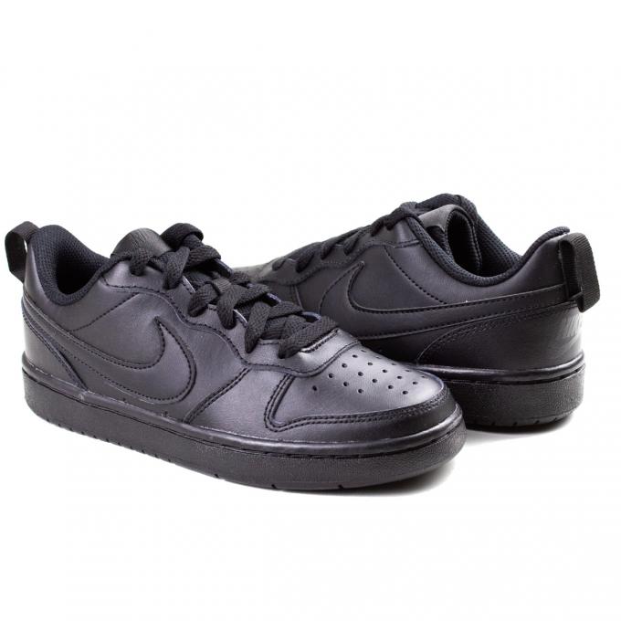 Tênis Court Borough Low 2 Feminino Nike - Black/black-black