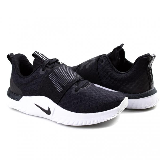Tênis Renew In-Season TR 9 Feminino Nike - Black/black-anthracite-white