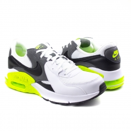 Tênis Masculino Nike Air Max Excee - White/black-iron grey-volt