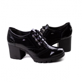 Sapato Oxford Feminino Dakota - Preto