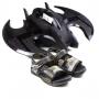 Sandália Infantil Masculina Grendene Batman - Preto/preto