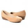 Sapato Anabela Feminino Modare - Nude