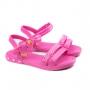 Sandália Infantil Feminina Grendene Barbie Candy - Rosa medio