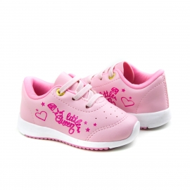Tênis Bebê Feminino Kidy Collors - Rosa