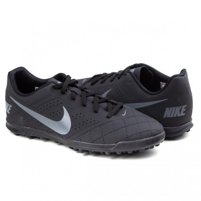 Chuteira Society Nike Beco 2 TF - Black/cool grey-white