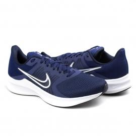 Tênis Masculino Nike Downshifter 11 - Midnight navy/white-dark obs