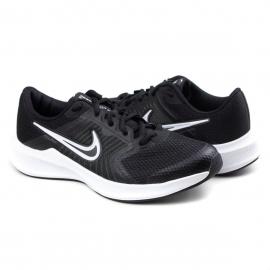 Tênis Juvenil Feminino Nike Downshifter 11 - Black/white