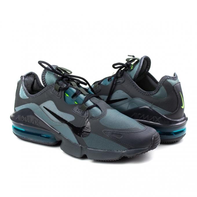 Tênis Masculino Nike Air Max Infinity 2 - Hasta/black-dk smoke grey