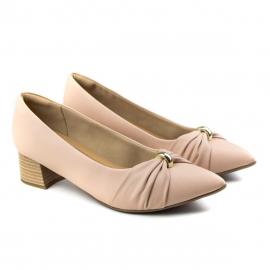Sapato Feminino Piccadilly Salto - Rose