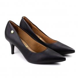 Sapato Feminino Scarpin Baixo - Preto