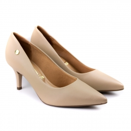 Sapato Feminino Scarpin Baixo - Bege