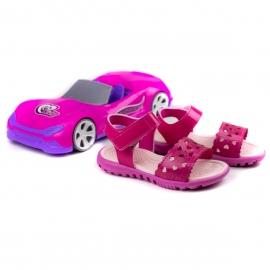 Sandália Infantil Feminina Bebe Brinde - Pink