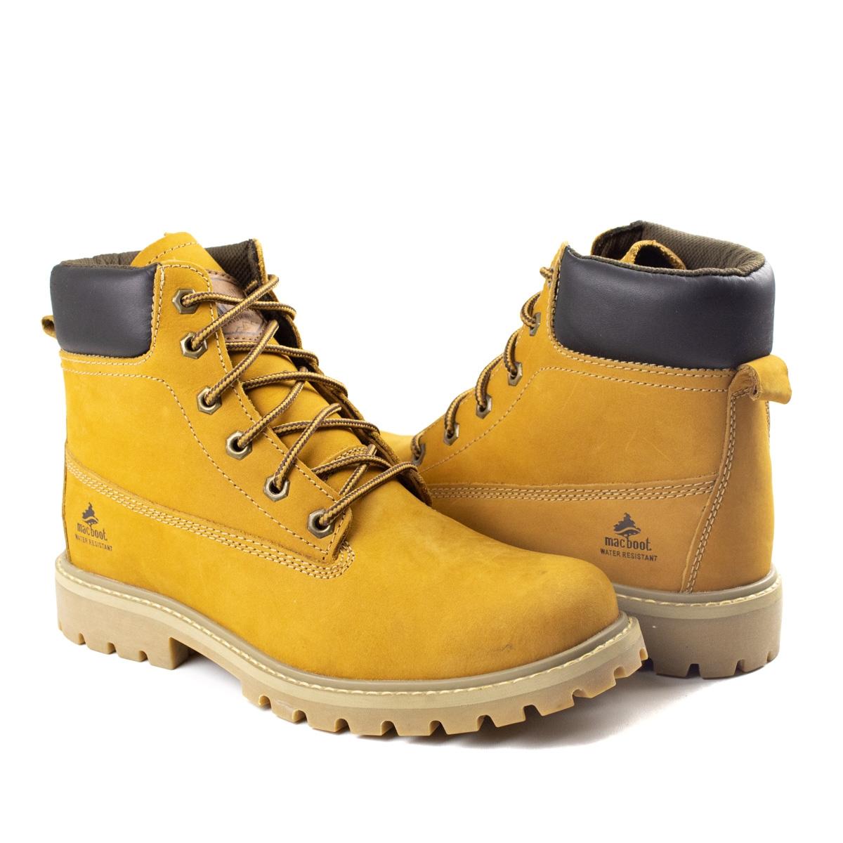 Bota Masculino Mac Boot - Mostarda